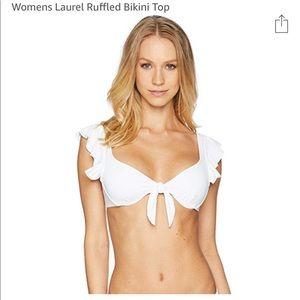 NWT Lilly Pulitzer Laurel Ruffle Bikini Top